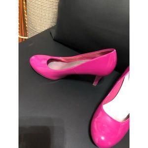 Pink comfort plus heels